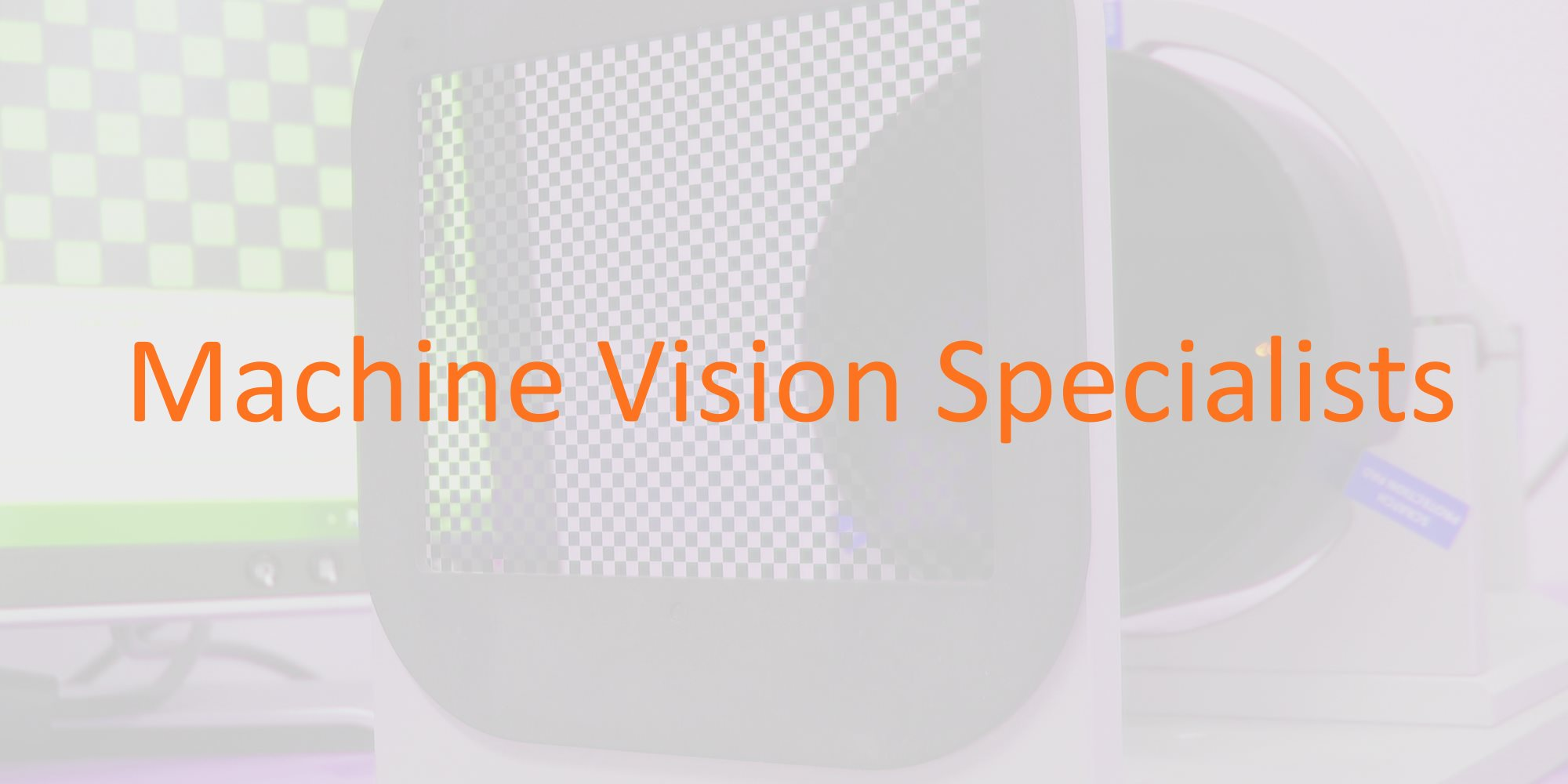 Machine vision specialists
